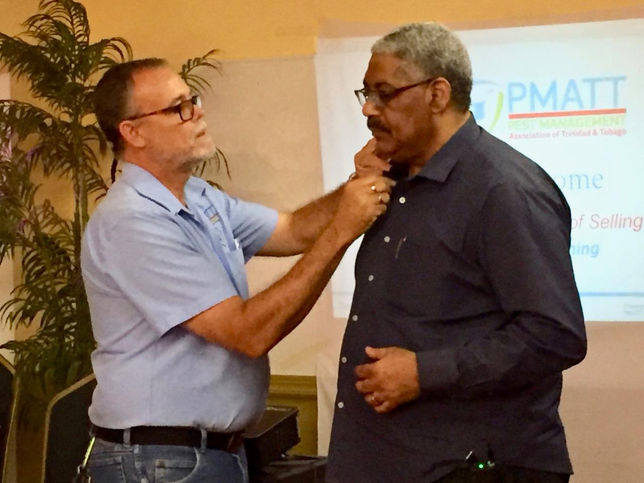 PMATT Directors Anthony Rostant & Victor Goden